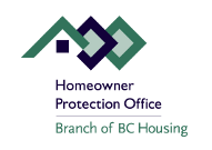 Homeowner Protection Office - Branch of BC Housing
